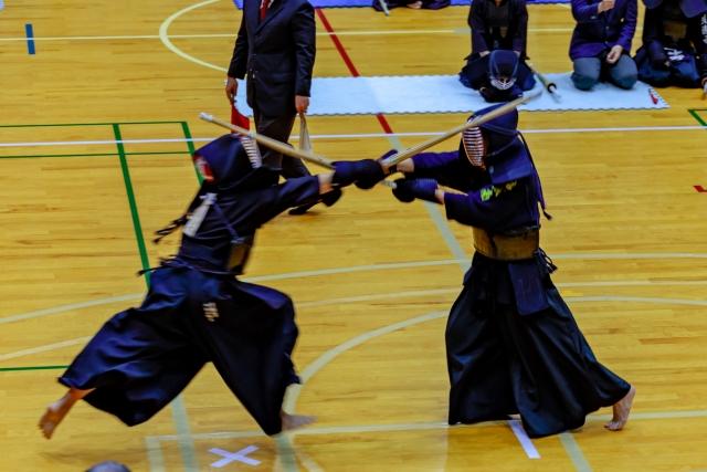部活動の剣道