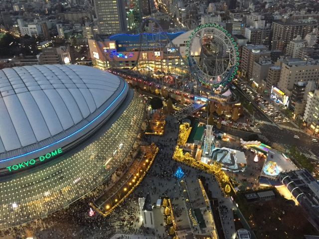 東京ドーム周辺の景観