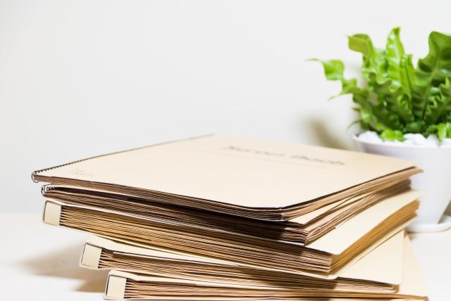 書類のファイル
